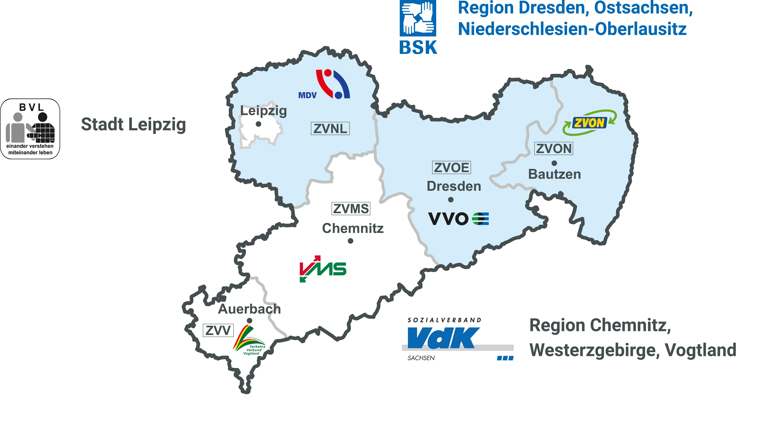 Bild Sachsenkarte